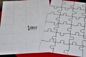 Adventní kalendář - výroba puzzle