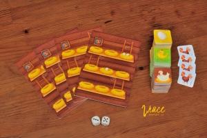 Stolní hra pro nejmenší | Plný kurník