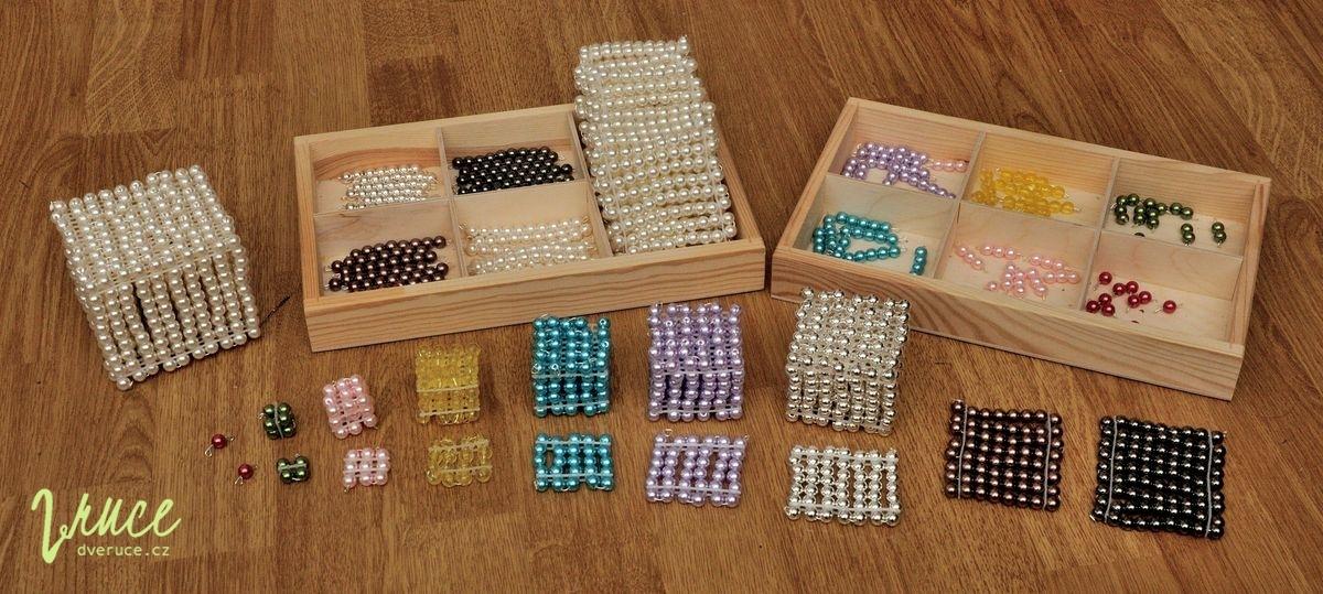 Perlový materiál levně - jak ho vyrobit doma