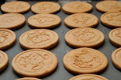 špaldové máslové sušenky