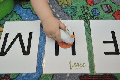 Třídění podle abecedy - podle počátečního písmene