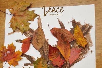 Strom z listí