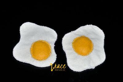 Volské oko z filcu - návod