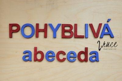Pohyblivá abeceda, malá i velká