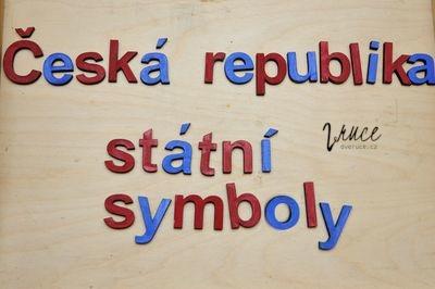 Téma Česká republika, státní symboly